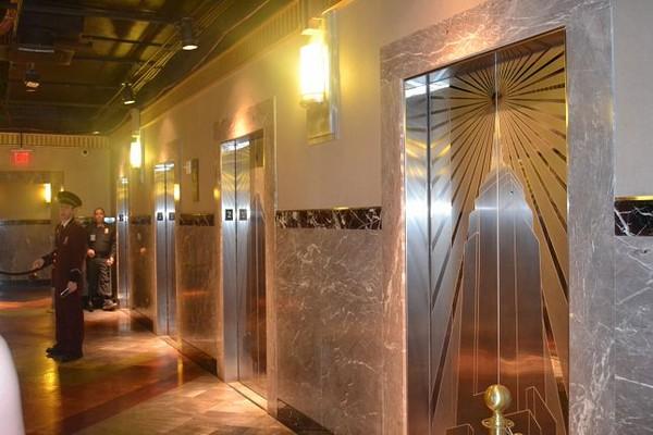 Ascenseurs du lobby de l'Empire State Building