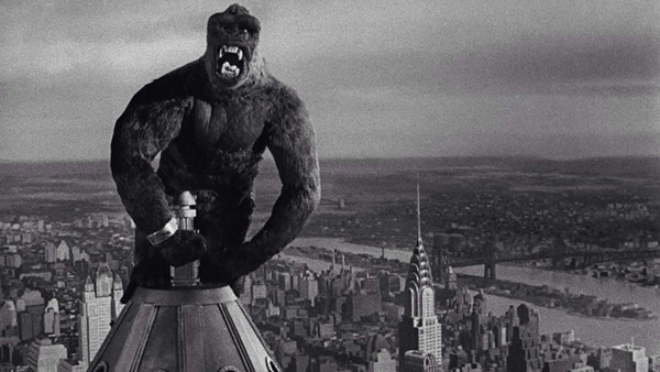 King Kong sur l'Empire State Building