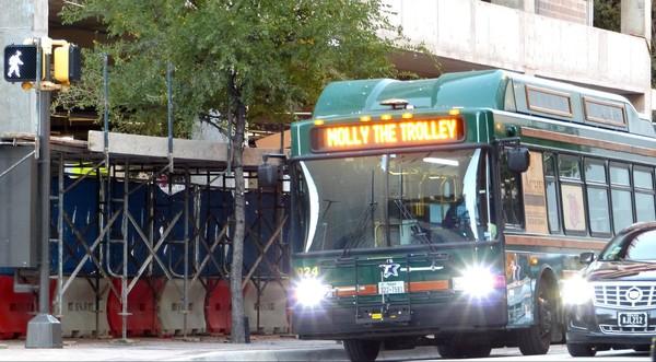 Molly trolley Fort Worth Texas
