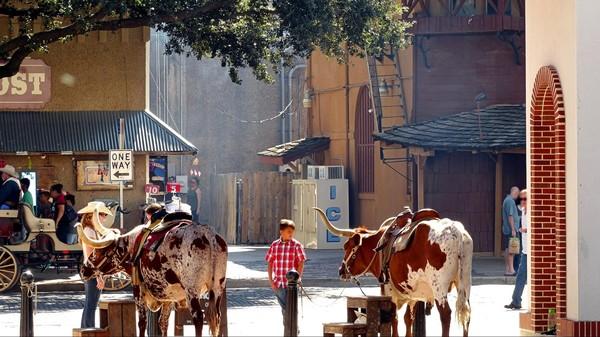 Main Street Stockyards Fort Worth Texas