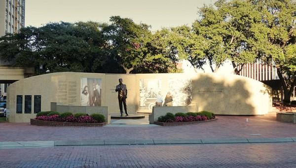 John F. Kennedy Tribute Fort Worth Texas