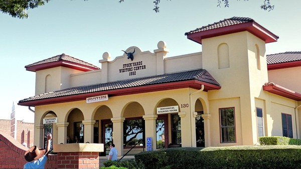 Stockyards Visitor Information Center Fort Worth Texas