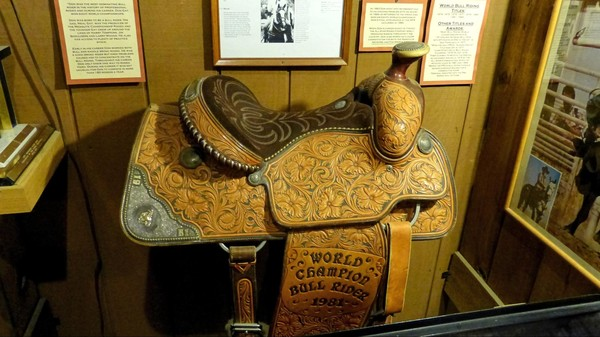 Selle The Texas Cowboy Hall of Fame Fort Worth Texas