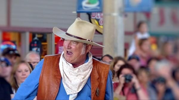 Cowboy gunfights Stockyards Station Fort Worth Texas