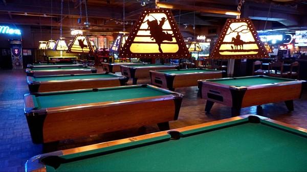 Tables de billard Billy Bob's Texas Fort Worth Texas