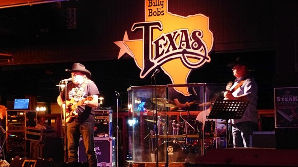 Petit concert gratuit Billy Bob's Texas Fort Worth Texas