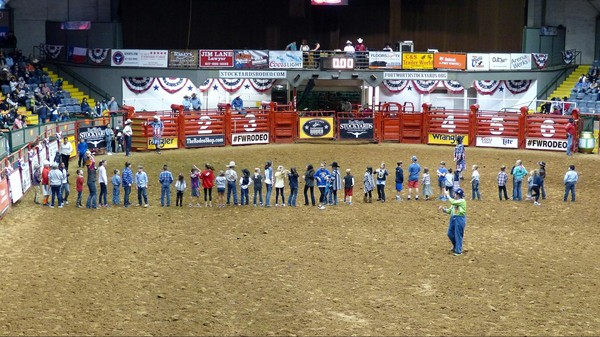 Mutton Scramble Stockyard Championship Rodeo Fort Worth Texas