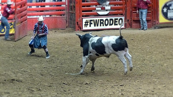 Clowns Stockyard Championship Rodeo Fort Worth Texas