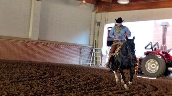Cowboy Pawnee Bill's Wild West Show Fort Worth Texas