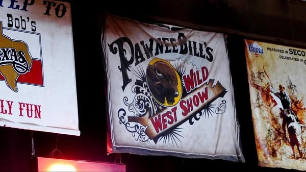 Flyer Pawnee Bill's Wild West Show Fort Worth Texas