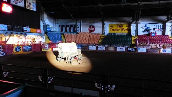 Charrette Pawnee Bill's Wild West Show Fort Worth Texas