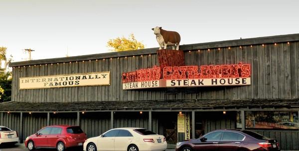 Cattlemen's Steak House Main Street Stockyards Fort Worth Texas
