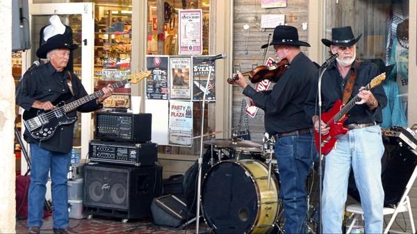 Concert Live Main Street Stockyards Fort Worth Texas