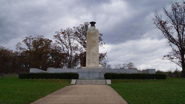 Eternal Light Peace Memorial (arrêt n°2) National Military Park Gettysburg Pennsylvanie