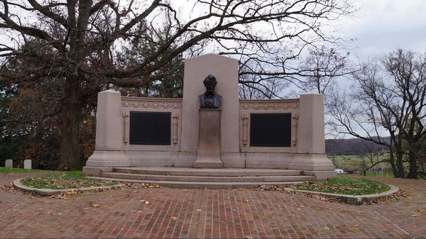 Lincoln's Gettysburg Address Memorial Gettysburg National Cemetery