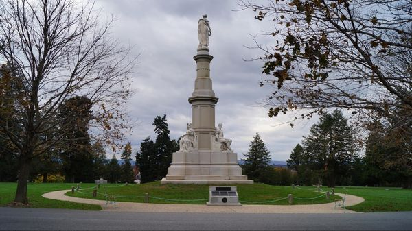 Soldiers National Monument Gettysburg National Cemetery