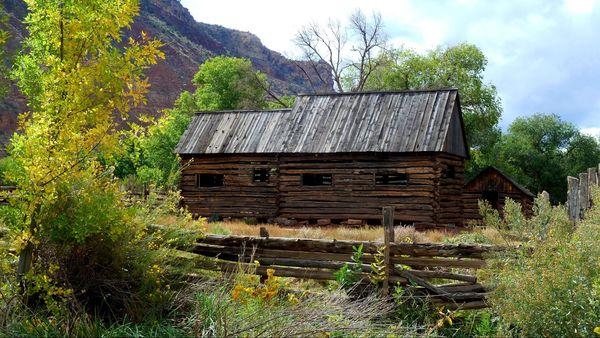 La grange des Wood Grafton Ghost Town