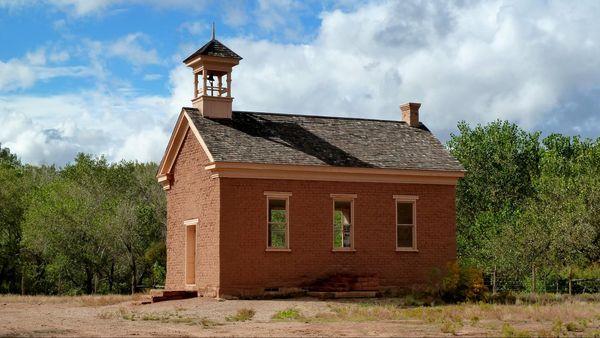 L'école-église Grafton Ghost Town