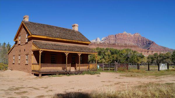 La maison Russell Grafton Ghost Town Utah