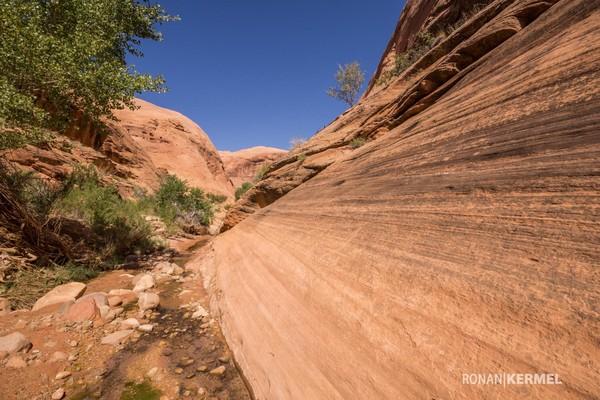 Randonnée vers Broken Bow Arch Utah