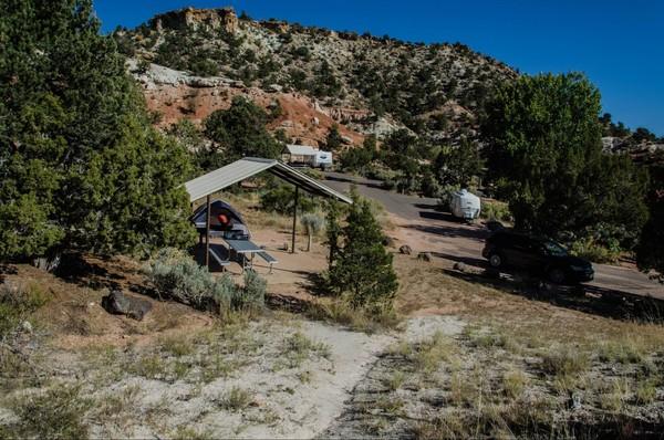 Wide Hollow Campground Escalante