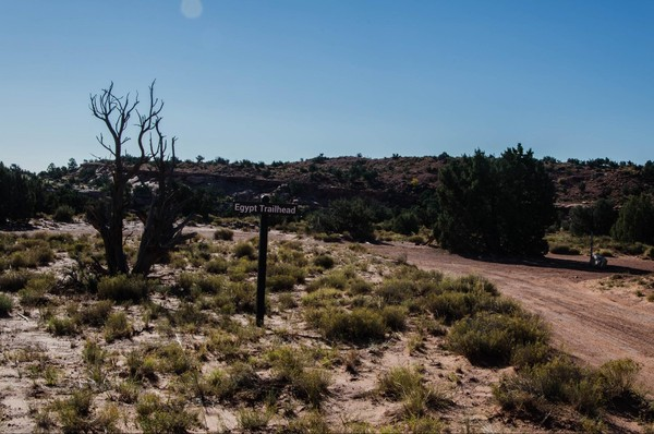 Egypt Trailhead Hole in the Rock Road Utah
