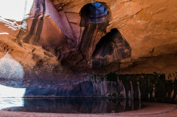 Neon Canyon Hole in the Rock Road Utah
