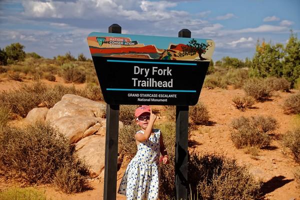 Panneau Dry Fork Trailhead