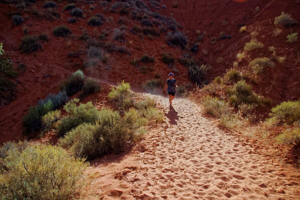 Dry Fork Trailhead Hole in the Rock Road Utah