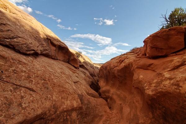 Peek-a-Boo Slot Canyon Hole in the Rock Road Utah