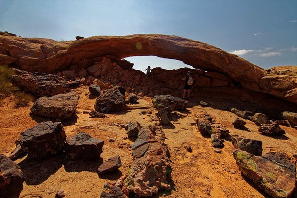 Moonrise Arch Utah