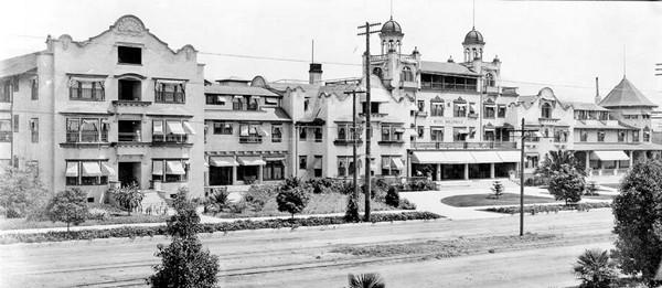 Hollywood Hotel en 1905