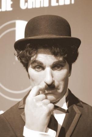 Charlie Chaplin Madame Tussaud Hollywood