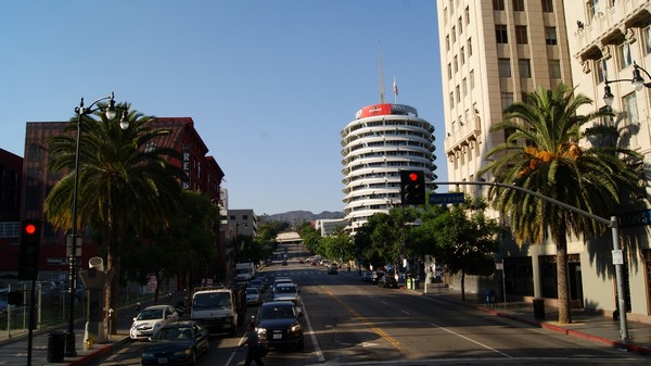 Capitol Records Building Hollywood