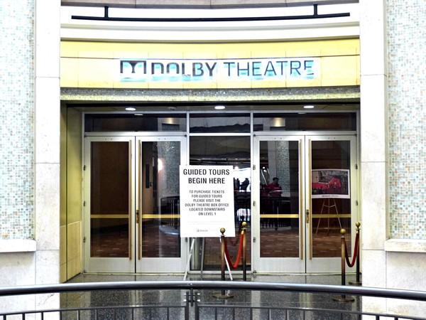 Entrée pour la visite guidée du Dolby Theatre à Hollywood Los Angeles