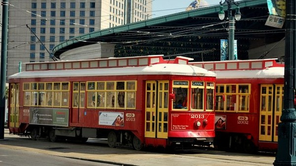 Tramway Streetcar La Nouvelle Orléans Louisiane