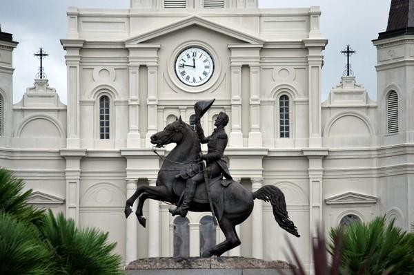 Major General Andrew Jackson Jackson Square La Nouvelle-Orléans Louisiane