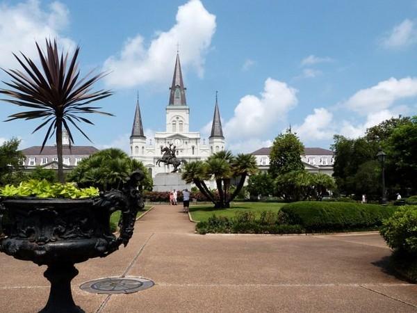 Cathédrale Saint Louis sur Jackson Square La Nouvelle-Orléans Louisiane
