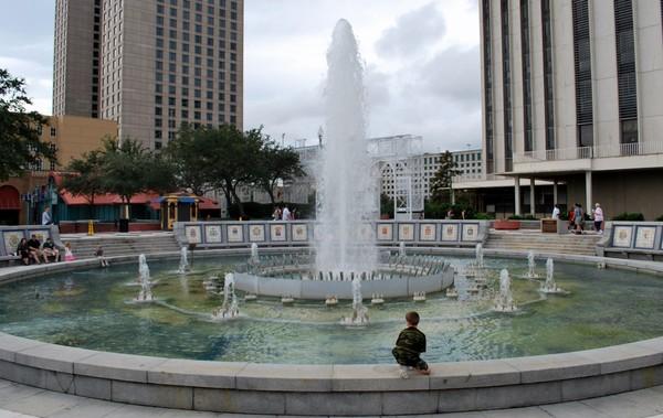 Woldenberg Park La Nouvelle-Orléans Louisiane
