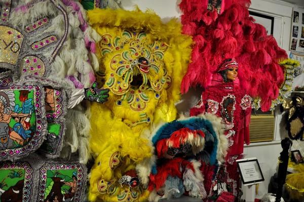 Backstreet Cultural Museum Tremé La Nouvelle-Orléans Louisiane