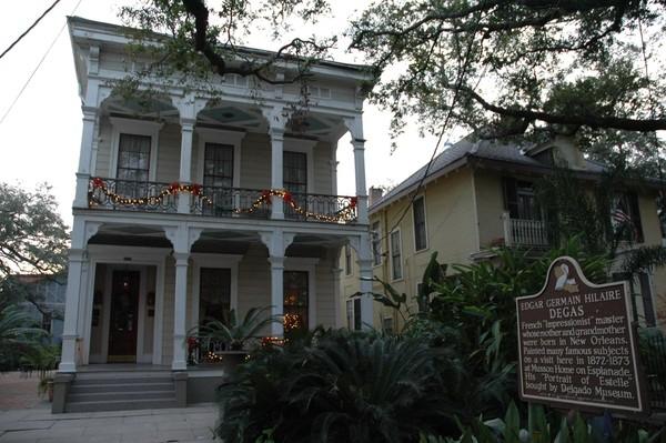 Maison de Degas La Nouvelle-Orléans Louisiane