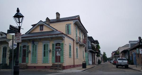 Faubourg Marigny La nouvelle-Orléans Louisiane