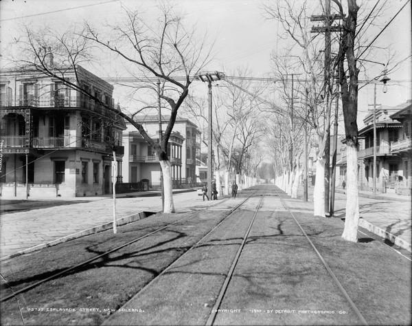 Esplanade Avenue, New Orleans, 1900