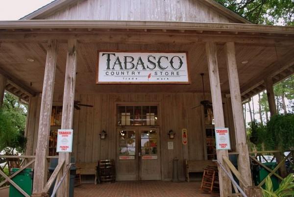 Boutique Tabasco Avery Island Louisiane