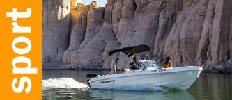Location de bateau à moteur au lac Powell