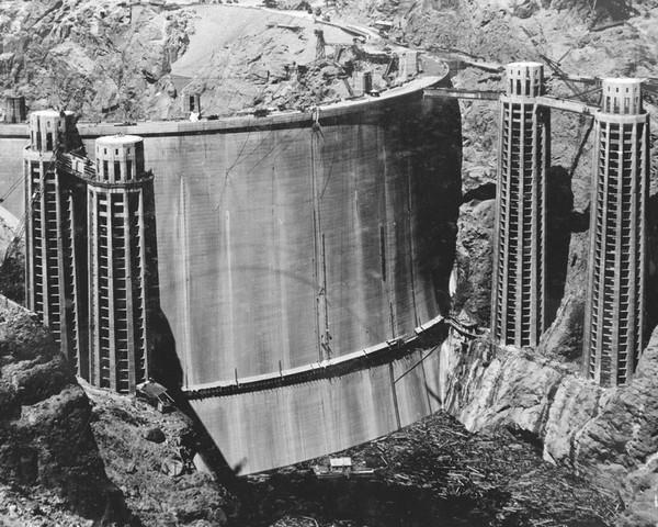 Barrage Hoover Dam en 1935
