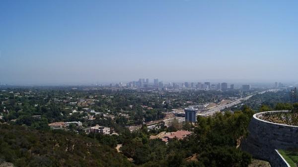 Vue sur Los Angeles depuis le Getty Center
