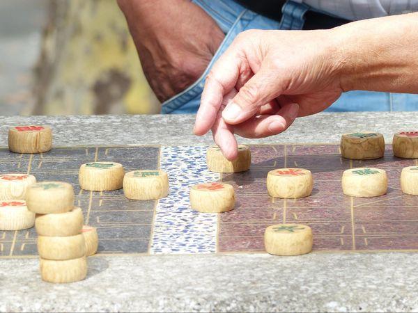 Xiangqi (échecs chinois) Chinatown New York