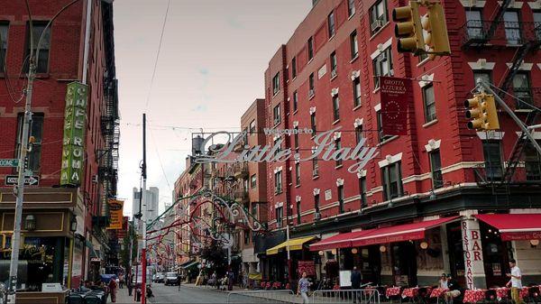 Mulberry Street Little Italy Manhattan New York