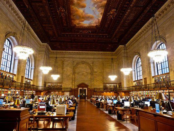 Salle de lecture New York Public Library